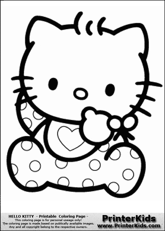 Hello Kitty Dot To Dot Coloring Pages : Hello kitty dot to coloring pages