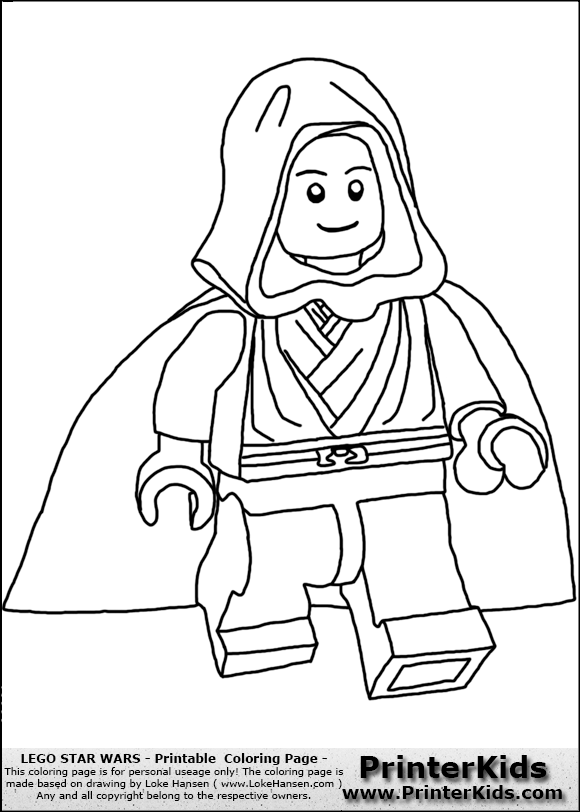 lego anakin skywalker coloring pages - photo#6